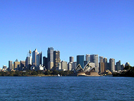 City, Harbour & Bondi Beach with Captain Cook Seafood Luncheon Cruise, Sydney - NSW