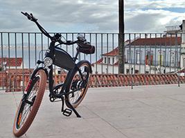 Bike Tour up the hills, Lisbon