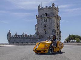 GPS Guided Go Car Tour: Belem Route, Lisbon