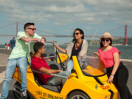 GPS Guided Tour GoCar - Full Day Special, Lisbon