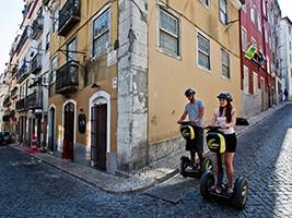 Segway Delicious tour, Lisbon