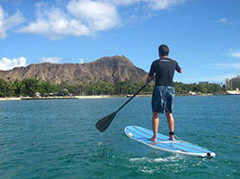 Waikiki Beach Private Stand Up Paddle Lessons, Hawaii - Oahu - HI