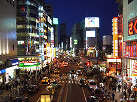 Tokyo Night Panoramic Drive, Tokyo
