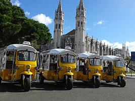 Tuk Tuk Ride, Lisbon