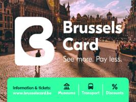 Brussels Card + Hop On Hop Off, Brussels