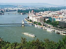 Danube River Cruise, Budapest