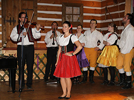 Folklore Evening Party with Dinner, Prague