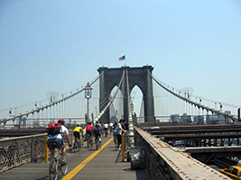 Brooklyn Bridge Bike Rentals, New York Area - NY