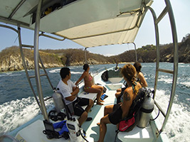 Diving, Huatulco