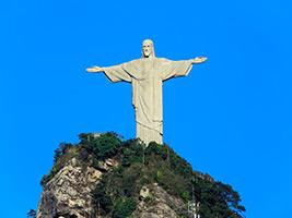 Christ Redeemer Visit, Rio de Janeiro