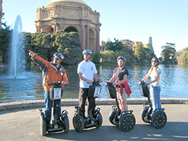 The Official Golden Gate Park Segway Tour, San Francisco Area - CA