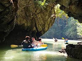 Full Day Andaman Sea Kayak from Khaolak, Khao Lak and Phang Nga