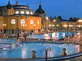 Combo: Szechenyi Spa & Massage + Dinner & Cruise with Live Music, Budapest