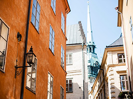 The Old Town and Riddarholmen in German, Stockholm