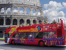 Save Time & Money Combo: Colosseum and Open Bus - 48 hours, Rome