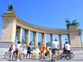 Budapest Bike Tour with Cafe Stop, Budapest