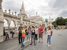 Small Group Buda Castle District Walk, Budapest