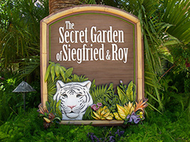 Siegfried, Roy's Secret Garden and Dolphin Habitat, Las Vegas - NV