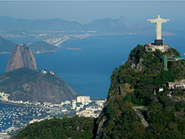 Christ Redeemer Statue and Selaron Steps with Optional Sugar Loaf Expresso, Rio de Janeiro