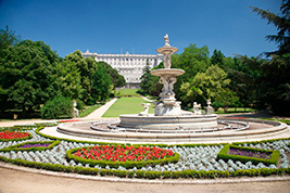 Behind the Scenes Royal Palace with Gardens, Madrid