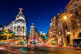 Madrid at Night, Madrid