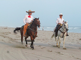 Horse Back Riding With a Mexican Charro Cowboy, Acapulco