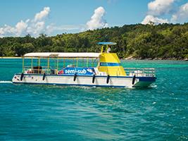 Full day Reef Safari (Semi Submersible + BQQ Lunch)), Seychelles Island