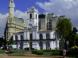 Buenos Aires City Tour with Lunch at Puerto Madero, Buenos Aires