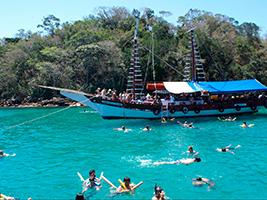 Angra Dos Reis Archipelago Cruise with Lunch, Rio de Janeiro