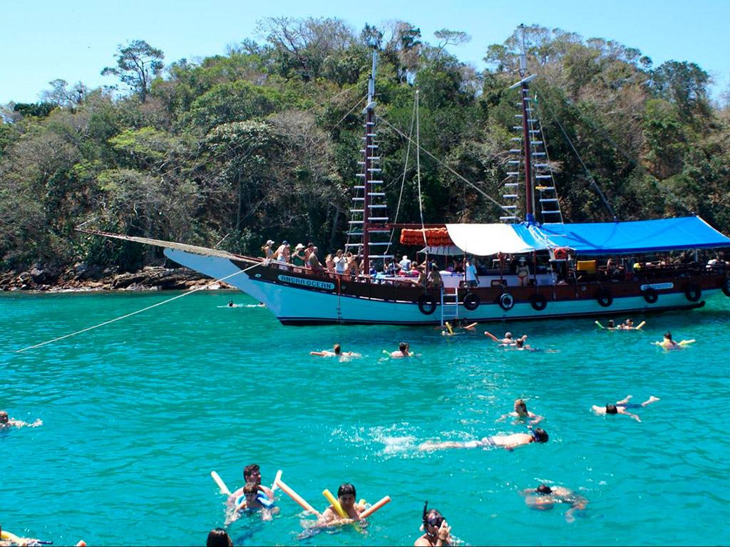 Cruzeiro ao Arquipélago Angra Dos Reis com almoço