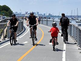 Hudson River Bike Rental, New York Area - NY