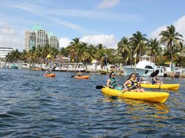 Kayak Rentals, Miami Area - FL