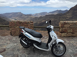 Scooter Rental with Basic Insurance, Tenerife