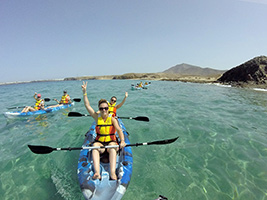 Sea Kayak in Lanzarote - Kayak routes, Lanzarote