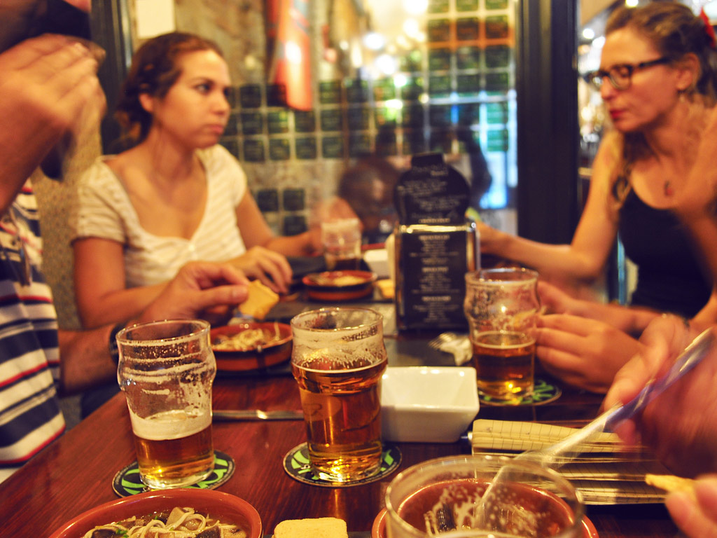 Craft Beer Tasting and Tapas
