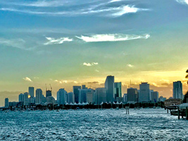 City Tour and Biscayne Boat Tour, Miami Area - FL