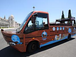 Caravel on Wheels, Lisbon