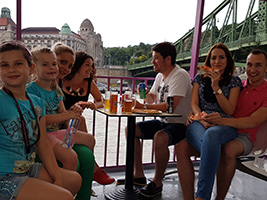 Pizza & Beer Cruise, Budapest