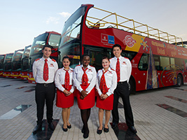 City Sightseeing Hop on- Hop off Dubai, Dubai