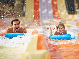 Yas Water World Bronze Admission with Transfer, Dubai