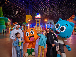 IMG World of Adventure Admission with Transfer from Dubai, Dubai