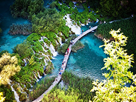 Plitvice Lakes from Bled - Private, Bled