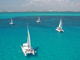 Catamaran trip to Isla Mujeres, Cancun (and vicinity)