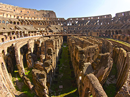 Special Access to the Gladiator´s Gate and the Arena Floor with Colosseum and Forum Tour, Rome
