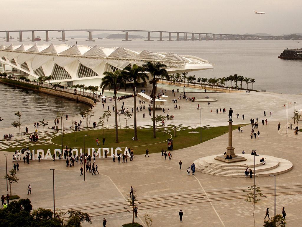 Passeio a pé pelo Rio histórico