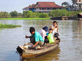 Chong Khneas and Tonle Sap Lake Half Day Tour, Siem Reap - North
