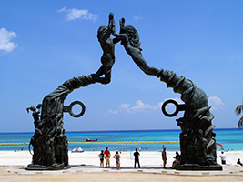 Tulum, Cenote and Playa del Carmen Tour, Cancun (and vicinity)
