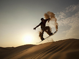 Sandboarding Safari with Dune Bashing, Dubai