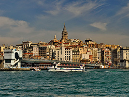 A Half Day Cruise Tour on the Bosphorus, Istanbul