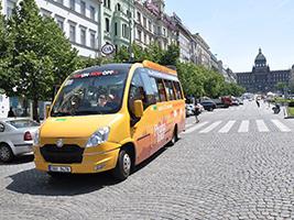 Hop On-Hop Off Bus City Tour with Headphones, Prague